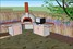 Wood-fired pizza oven, polished concrete bench-top, 3D design plan